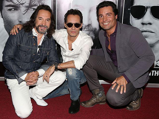Marco Antonio Solis, Marc Anthony & Chayanne