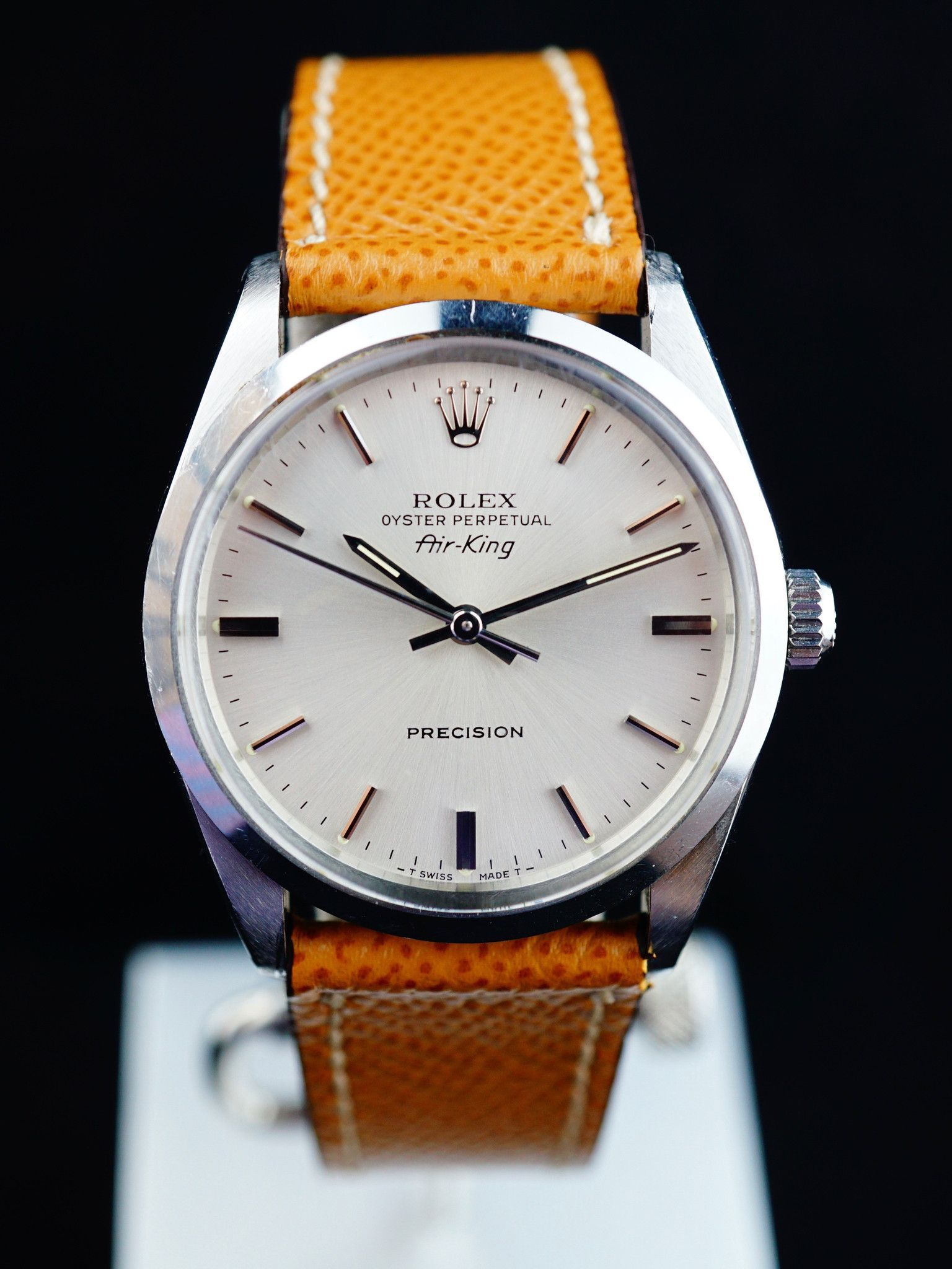 1988 Rolex AirKing (ref.5500) Rolex air king, Rolex