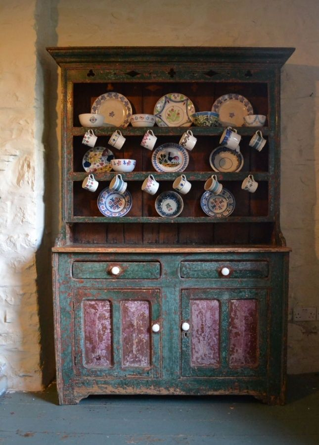 Irish Dresser Old Irish Dresser Irish Cottage Interiors