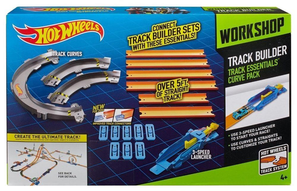 New Hot Wheels Track Builder Essentials Curve Pack Hot Wheels Track Hot Wheels Track Builder Hot Wheels
