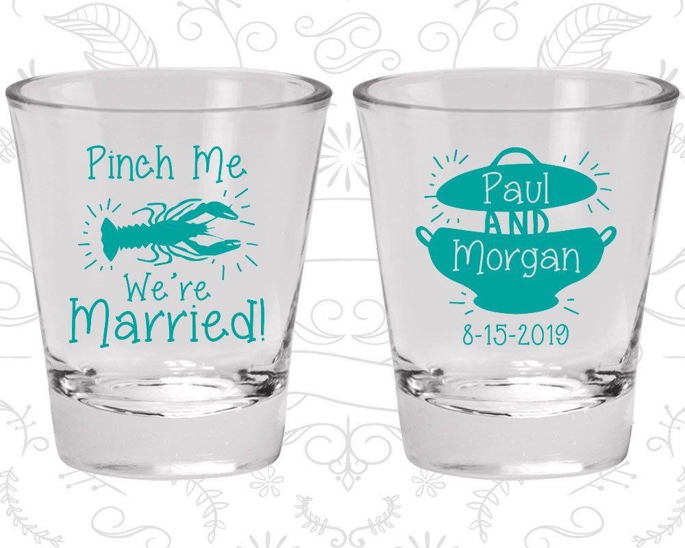 Wedding Favor Shot Glasses, Personalized Shot Glass, Shot Glasses, Shot Glass, Custom Shot Glasses, Wedding Glasses (288)