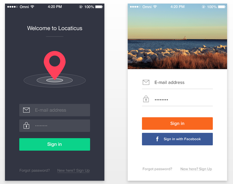 Login-Apps-one-two.png (750×590) | ux/ui | Pinterest