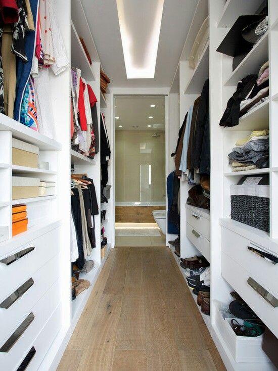 8 passos para organizar o closet!