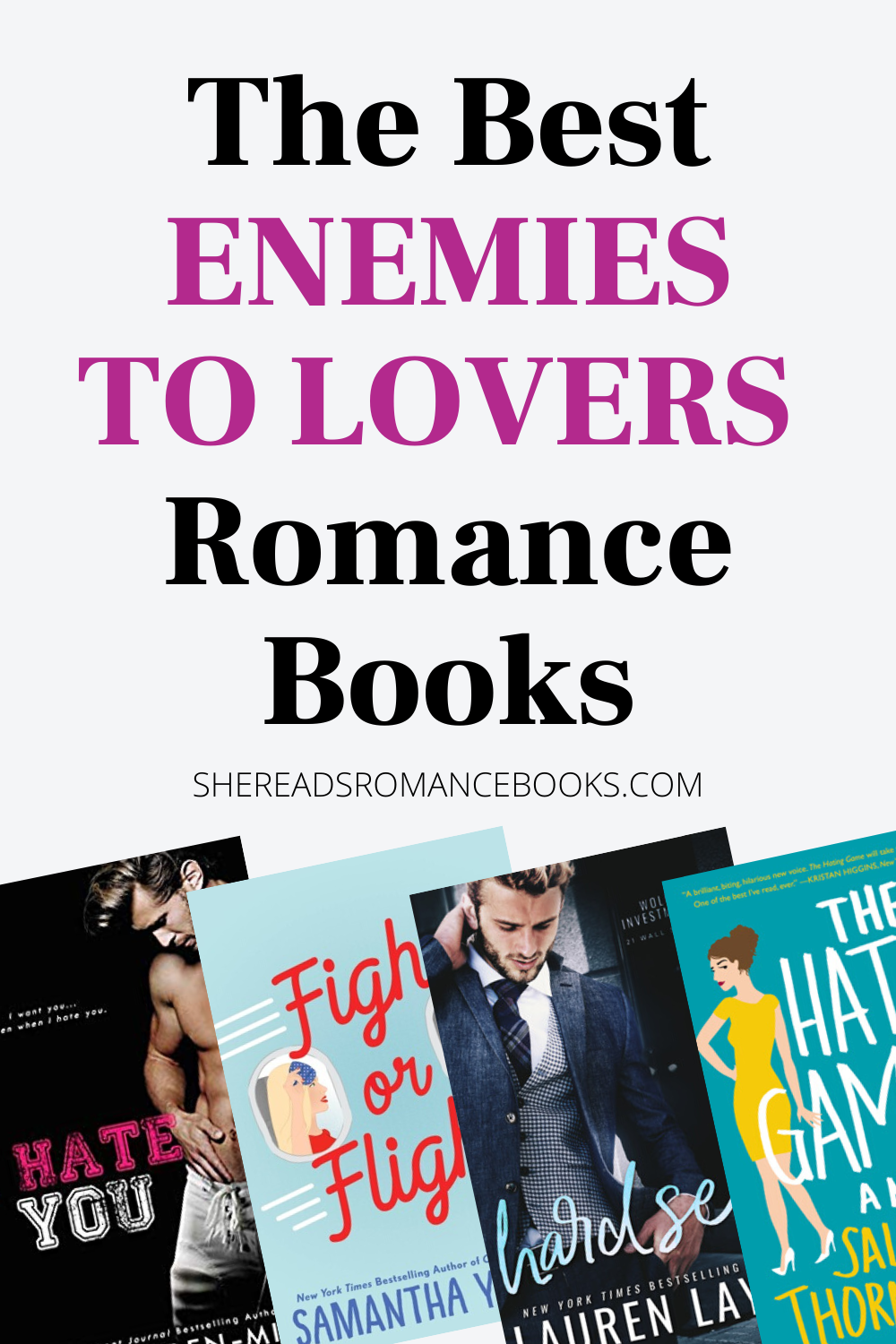 10 Best Enemies to Lovers Romance Books — She Reads Romance Books