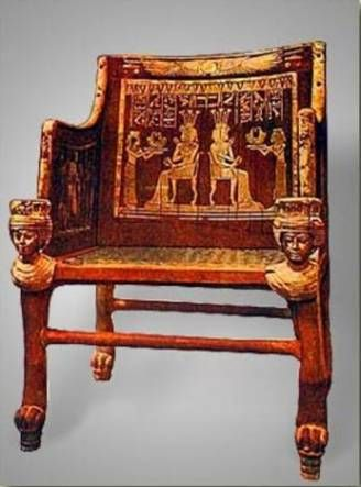 Awesome Ancient Egyptian Furniture: Pictures