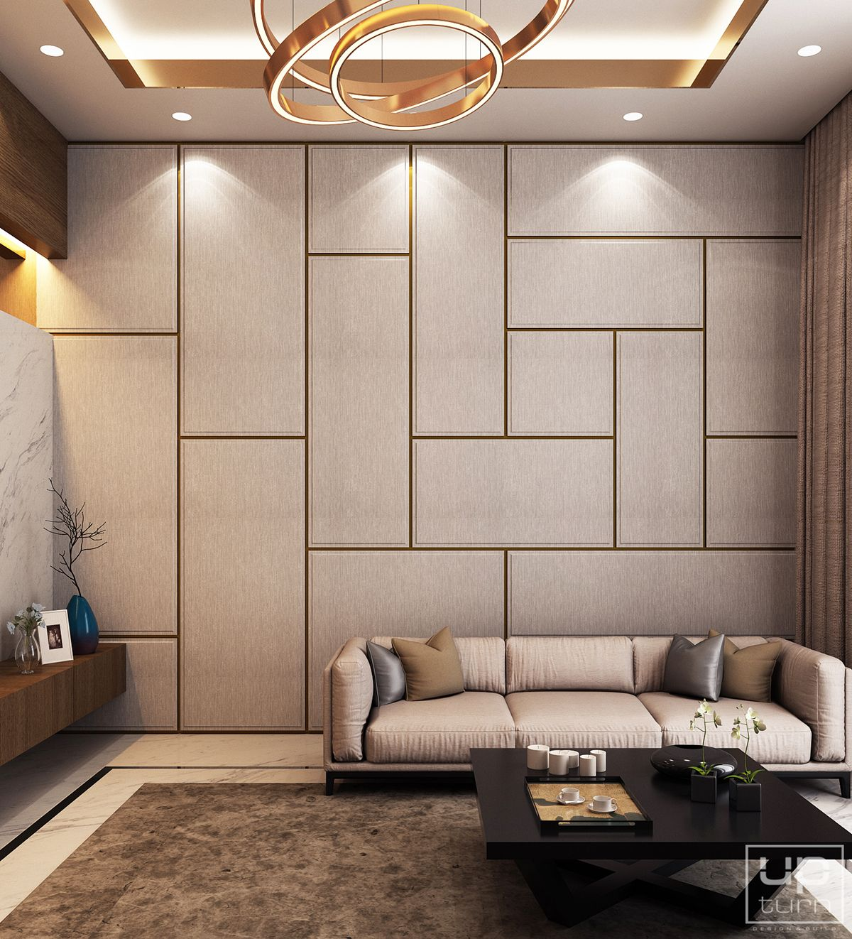 24 Luxury And Modern Home Office Designs: Luxury Modern Villa - Qatar On Behance In 2019
