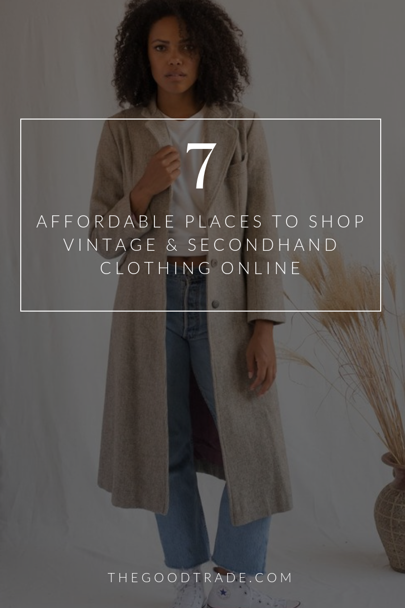 10 Online Thrift Stores For Affordable Vintage Secondhand Clothing Affordable Fashion Clothes Vintage Clothing Online Affordable Fashion Brands