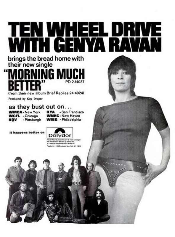 Ten Wheel Drive With Genya Raven - Morning Much Better.Single ad ...