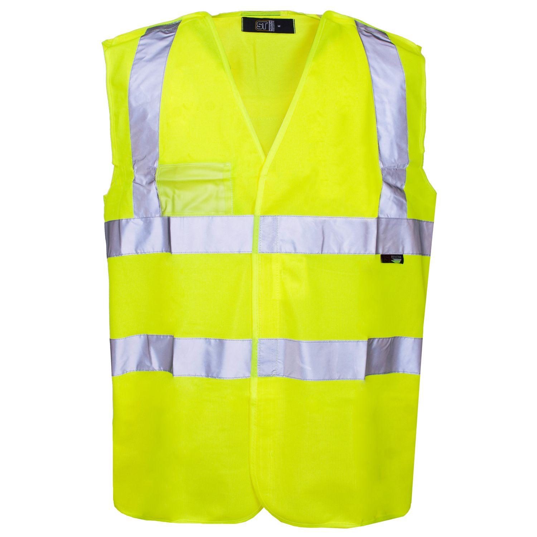 ST Hi Vis Pull Apart Vest Supertouch Website Cheap t