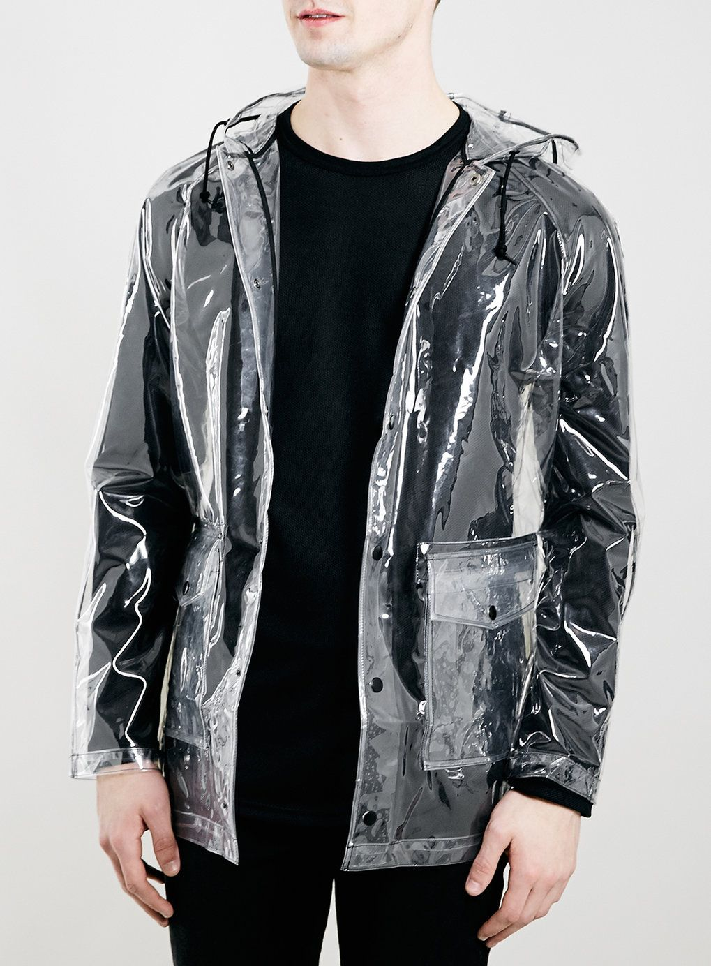 Topman Transparent Rain Coat | esőkabát | Pinterest | Rain, Mac ...