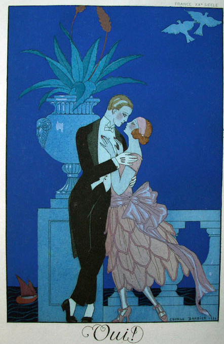 Illustration by George Barbier (1882-1932)