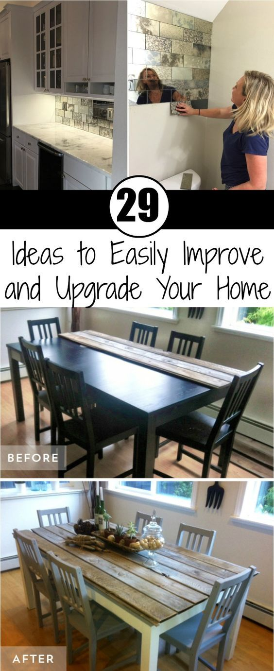 29 Ideas to Easily Improve and Upgrade Your Home | Pinterest | House ...