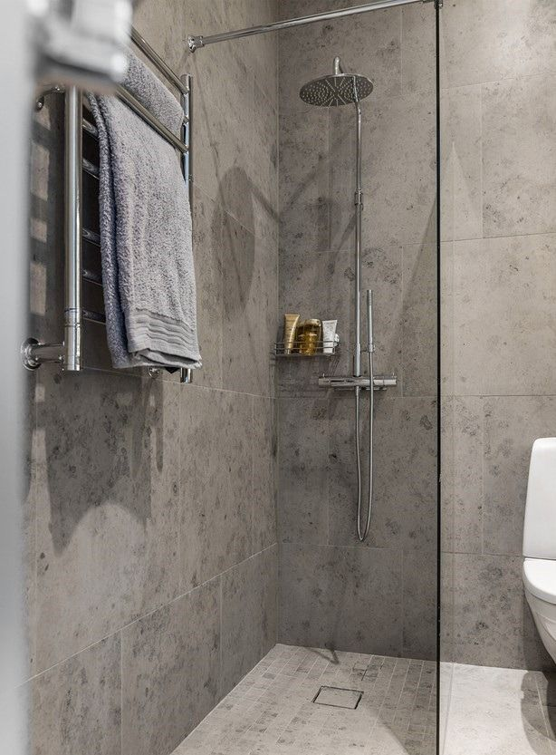 Cozy And Feminine 36 Sq M Apartment In Sweden Gravity Home Shower Cabin Bathroom Design