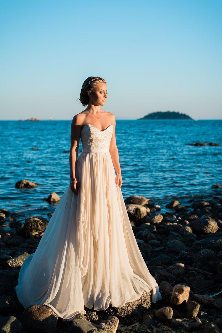Sunset and Twilight Beach Wedding Inspiration | Beach weddings ...