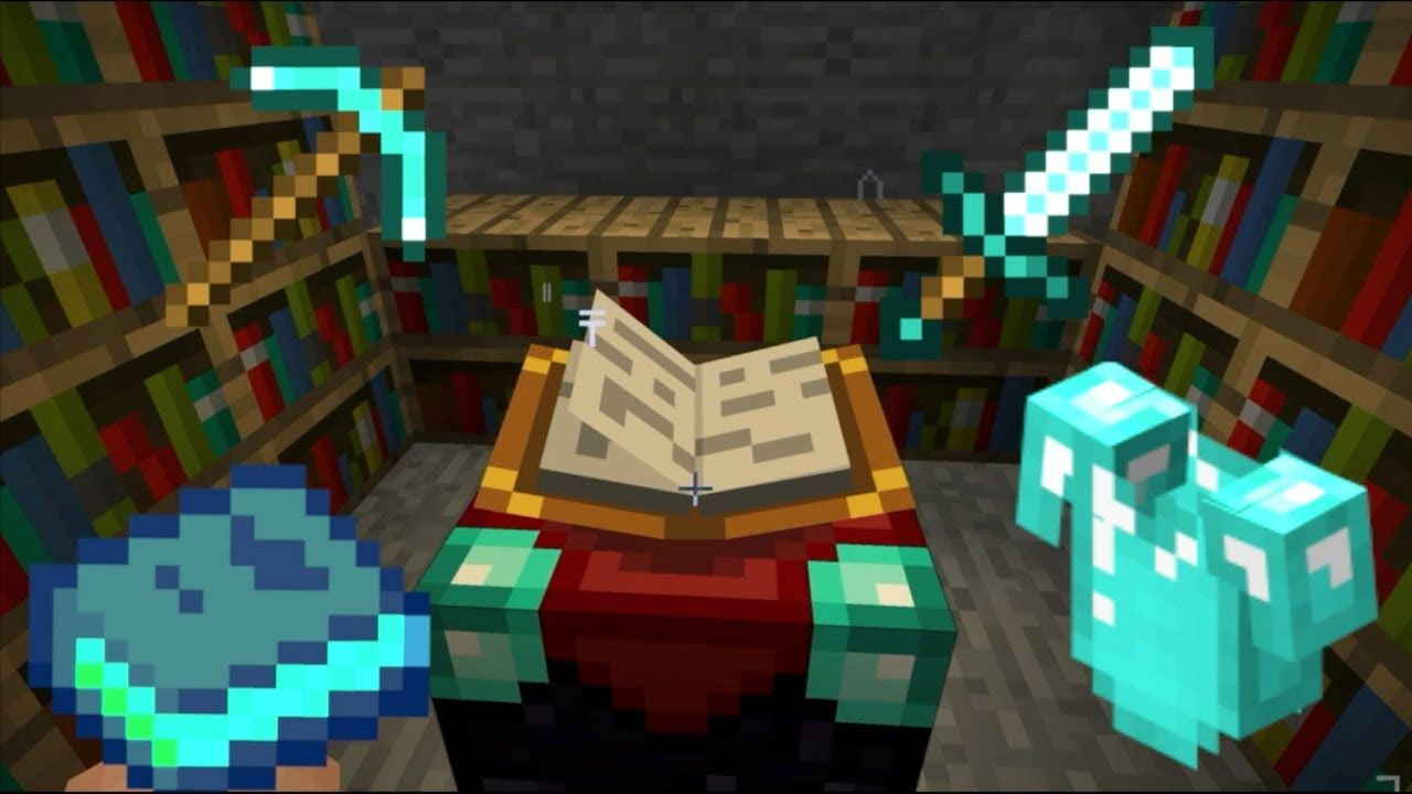 Minecraft Enchanting Table This Video Is Going To Be Showing