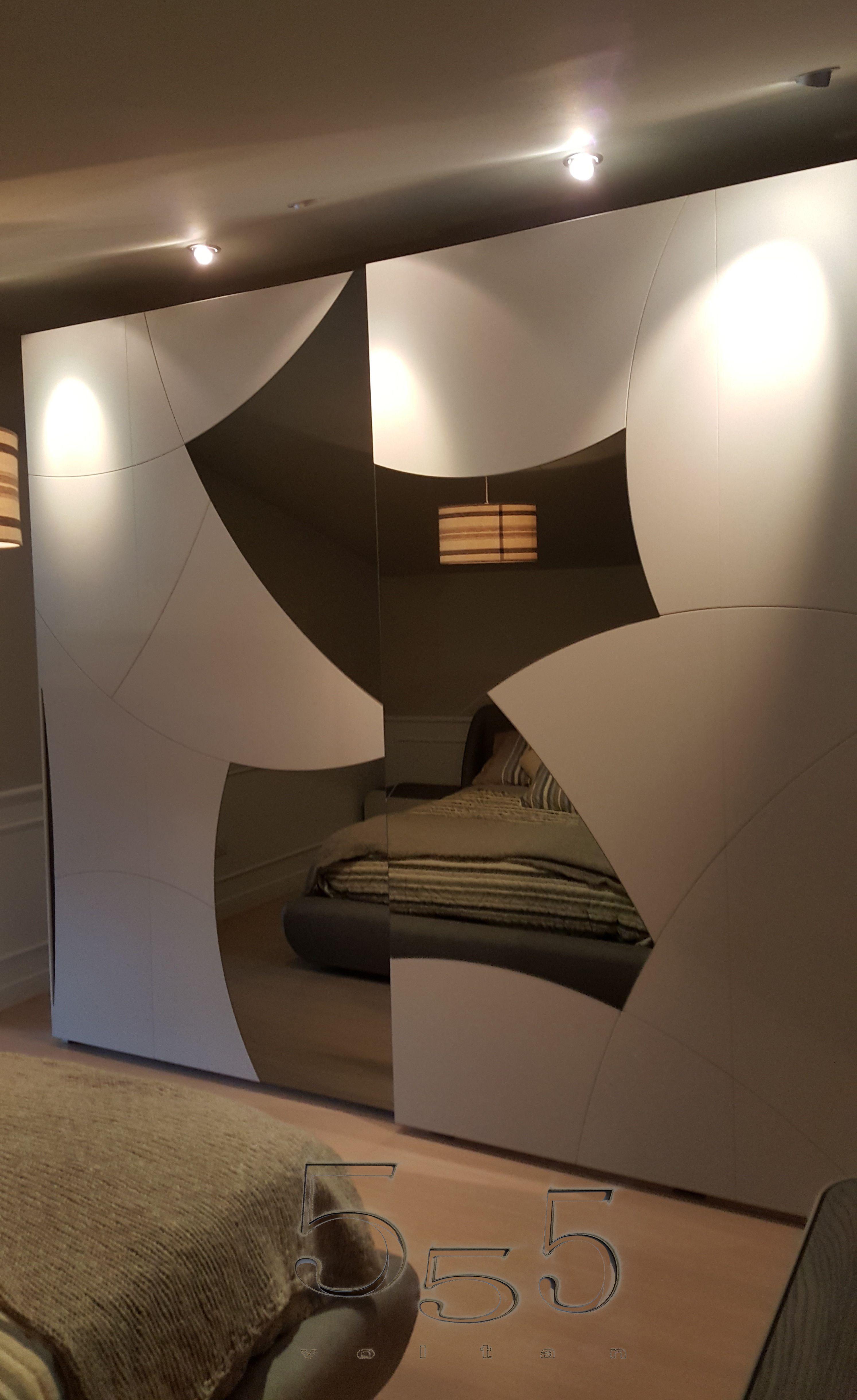 Armadio con inserti in specchio, modello Eikon. #armadi #arredamento ...