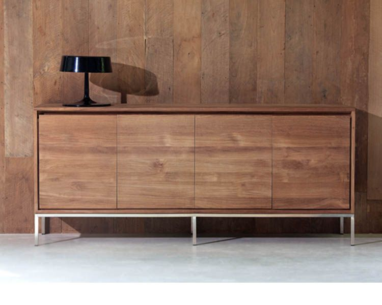 Ethnicraft© - Products » Sideboards »Teak Essential sideboard - 5 - designer mobel aus holz joyau bilder