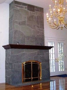 fireplace slate. A slate fireplace looks great in virtually any style  from traditional to contemporary Stone Fireplace Surrounds Vermont Structural Slate Building