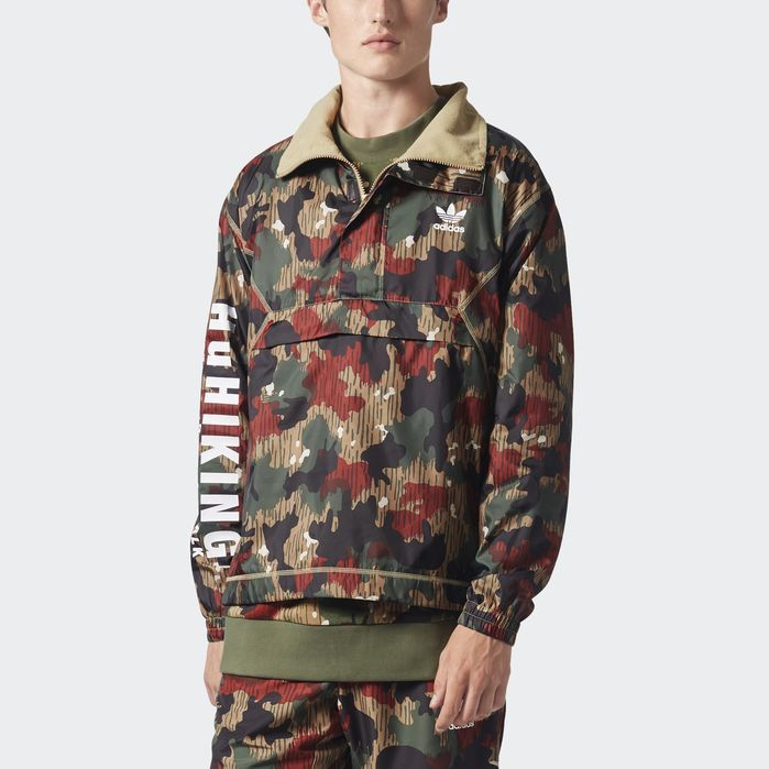 35f0e6a06d4bb adidas Pharrell Williams Hu Hiking Camo Windbreaker - Mens Jackets ...