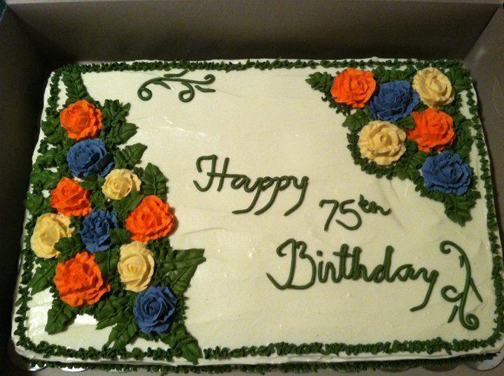13+ 75th birthday cake for grandma ideas in 2021