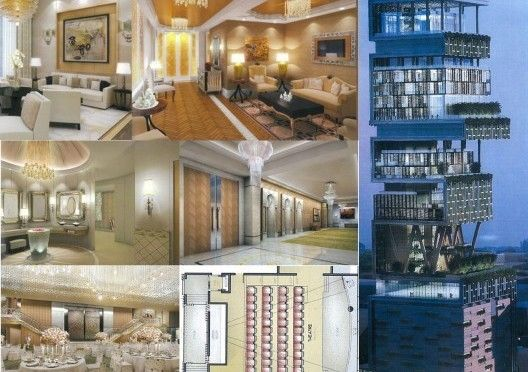 The Most Expensive House In The World Antilia Mumbai India