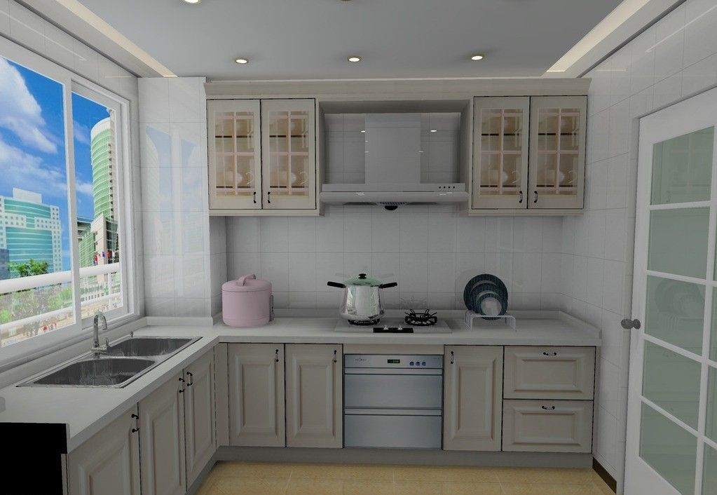 Minimalist Kitchen Cabinet Interior Design 3D From Kitchen Cabinet Custom Kitchen 3D Design Design Ideas