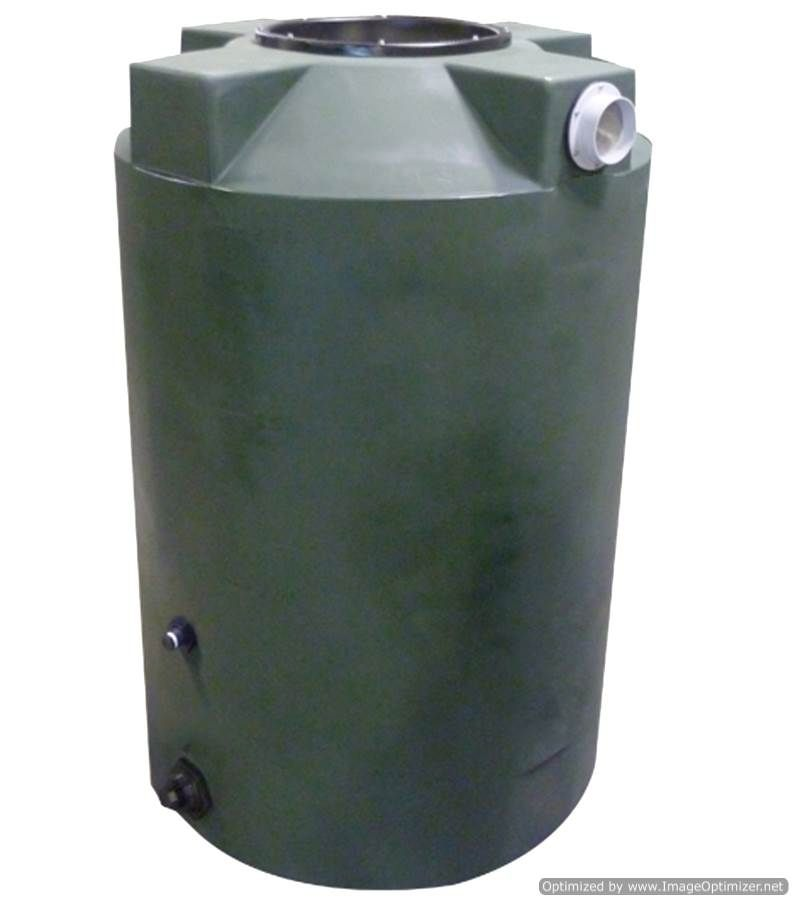 Bushman Rain Harvesting Storage Tank 200 Gallon Storage Tank Water Storage Tanks Water Storage