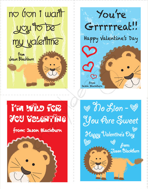 5 Printable Valentines Day Cards on etsy – Christian Valentine Cards for Kids