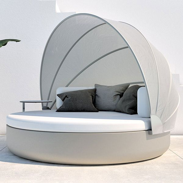 Vondom, ULm, Outdoor, Daybed, round - HomeInfatuation.com ... on Living Spaces Outdoor Daybed id=94926