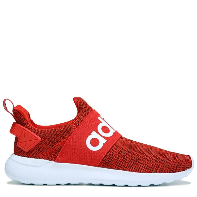 competitive price 36fe5 f2491 Adidas Mens Cloudfoam Adapt Slip On Sneakers (RedWhite)