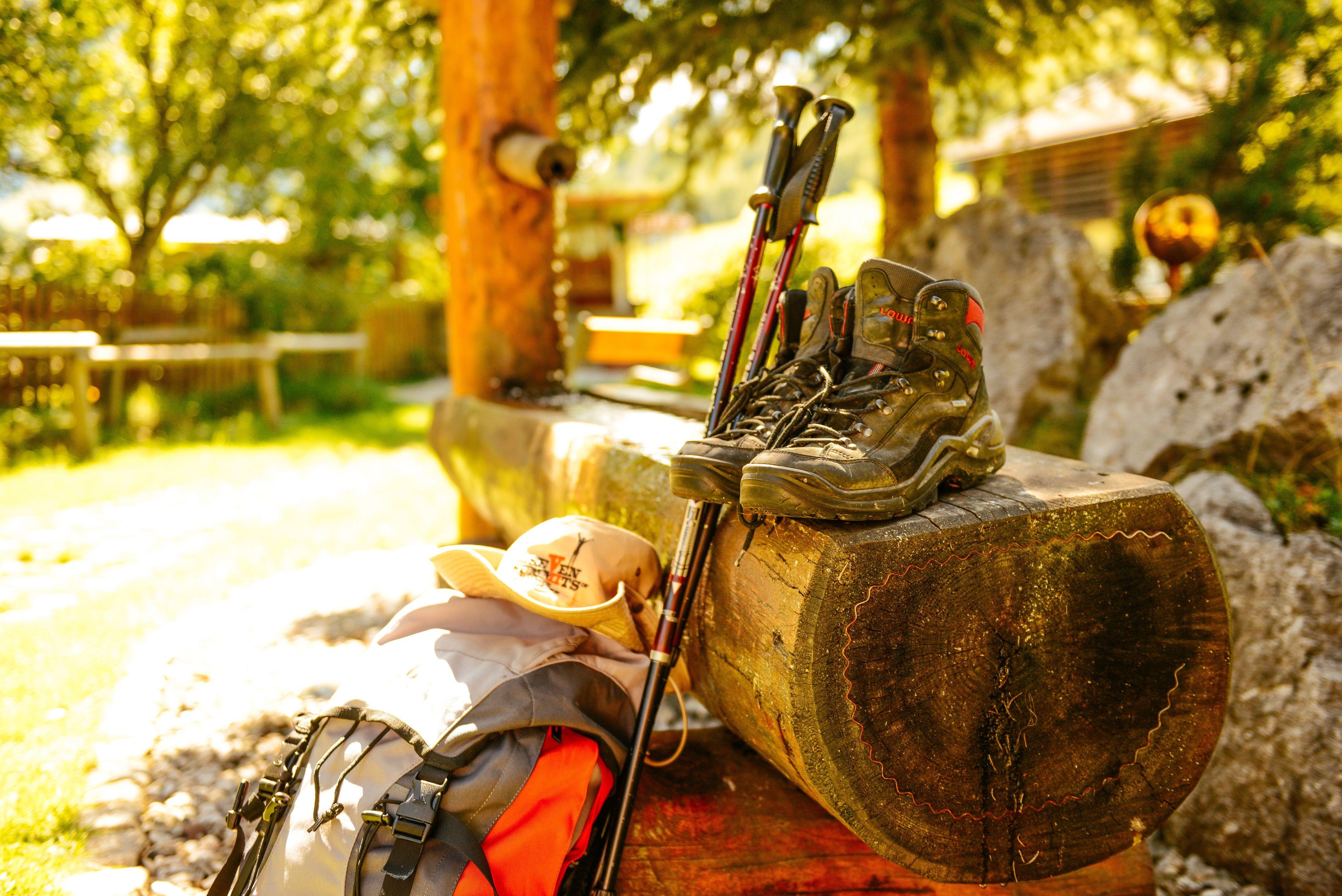 Wanderer haben´s gut bei uns im Barbarahof! Nimm teil an einer unserer geführten Wanderung mit sen.Chef Rudi #wandern #outdoor #active #saalbach #teambarbarahof #hotelbarbarahofsaalbach