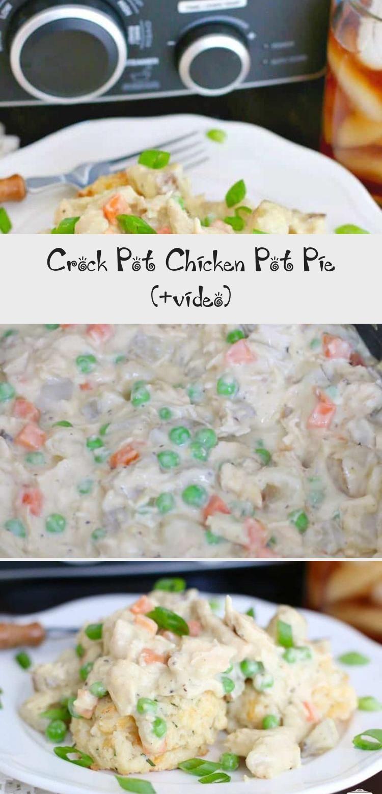Crock Pot Chicken Pot Pie recipe from The Country Cook  Chicken pot pie crock pot