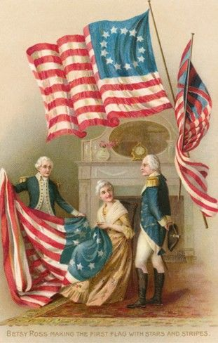 betsy ross original flag
