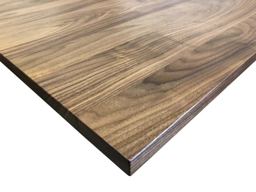 Walnut Desk Top Customize Order Online With Images Walnut