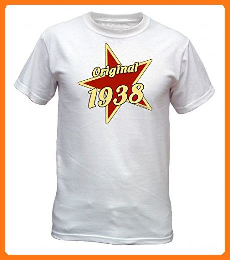 Birthday Shirt - Original 1938 - Lustiges T-Shirt als Geschenk zum  Geburtstag - Weiss