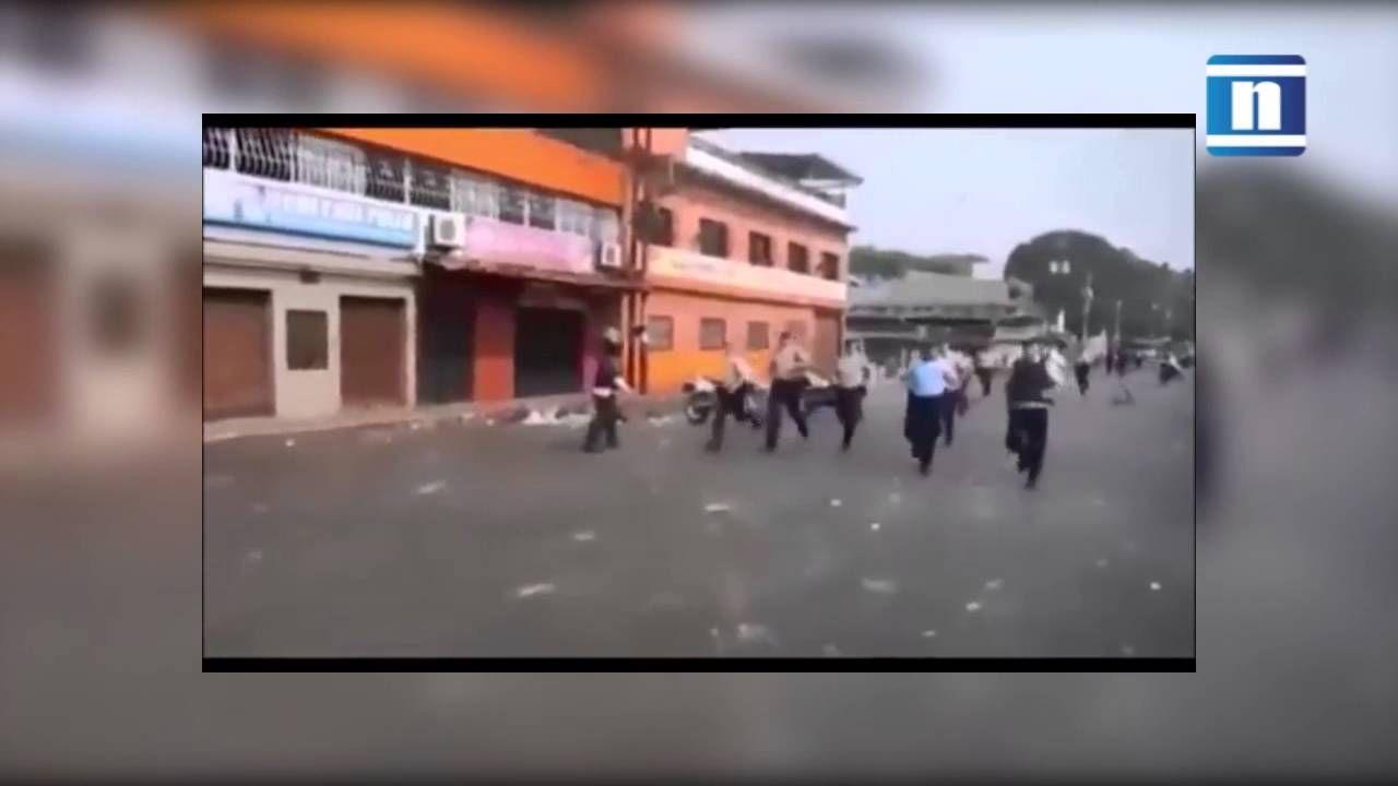 Video impactante sobre la horrenda muerte de los policías en Táchira