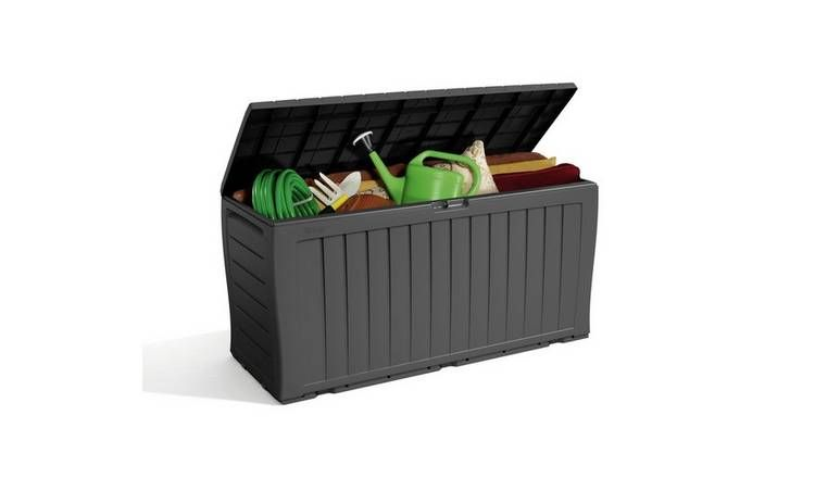 Keter Marvel Plus Garden Storage Box 270l Grey Garden