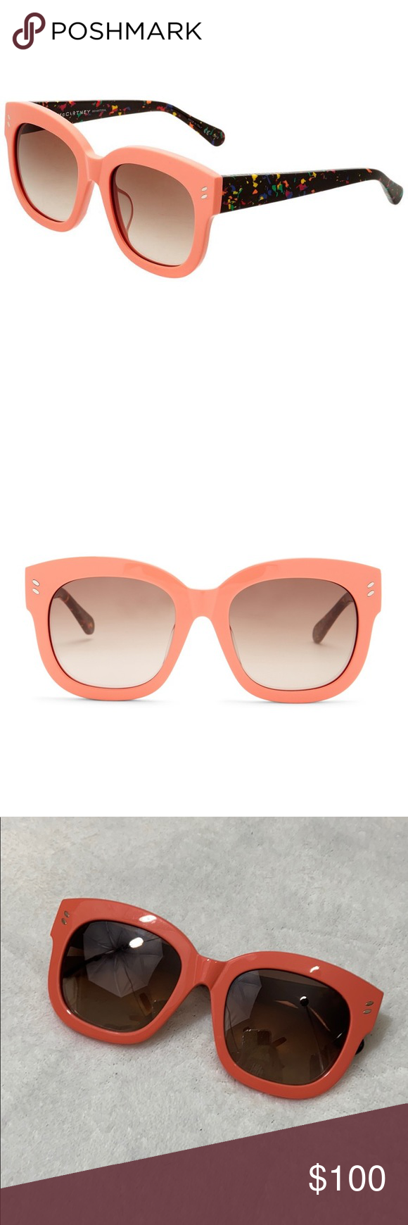 Stella McCartney Sc0026sa 52mm Sunglasses Stella