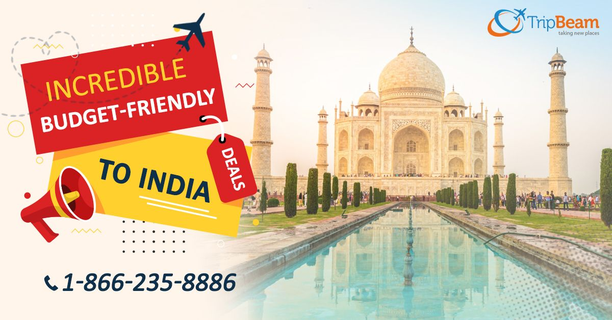 Incredible Budget-friendly Flight Deals to #India. Enquire Your Flight Now! Visit: tripbeam.com  For more information: Contact us at: 1-866-235-8886 (Toll-Free)  #Tripbeam #Travel #Destination #flightdeals #budgetfriendly #cheapflightstoIndia #cheapflights #tourism #FlightsfromUSAtoIndia #BookTickets