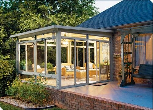 Beautiful Off Bedroom Solarium Idea