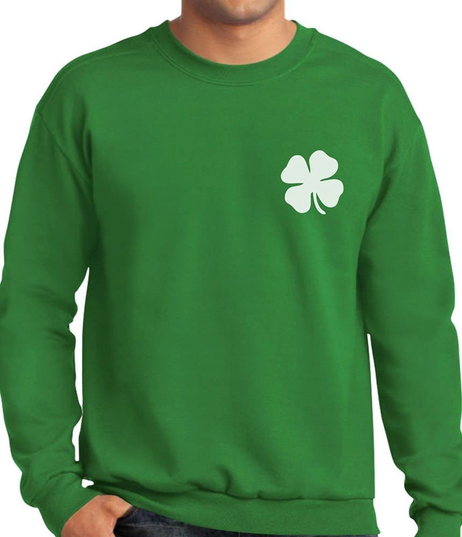 Patrick/'s Day Irish Shamrock Hoodie Gift Idea Pocket Size Clover St