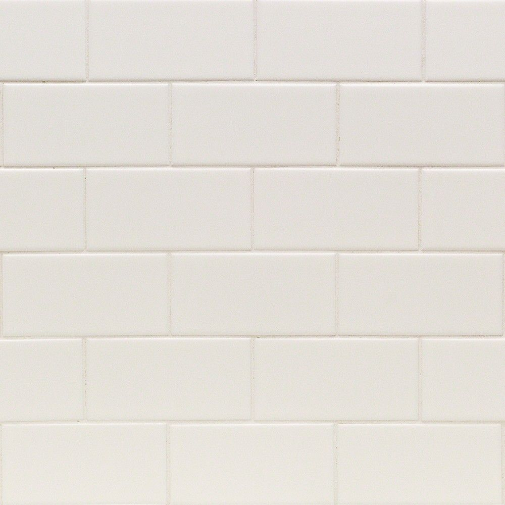 Casa white 3x6 matte ceramic wall tile ceramic wall tiles basic white 3x6 matte ceramic tile tilebar dailygadgetfo Image collections
