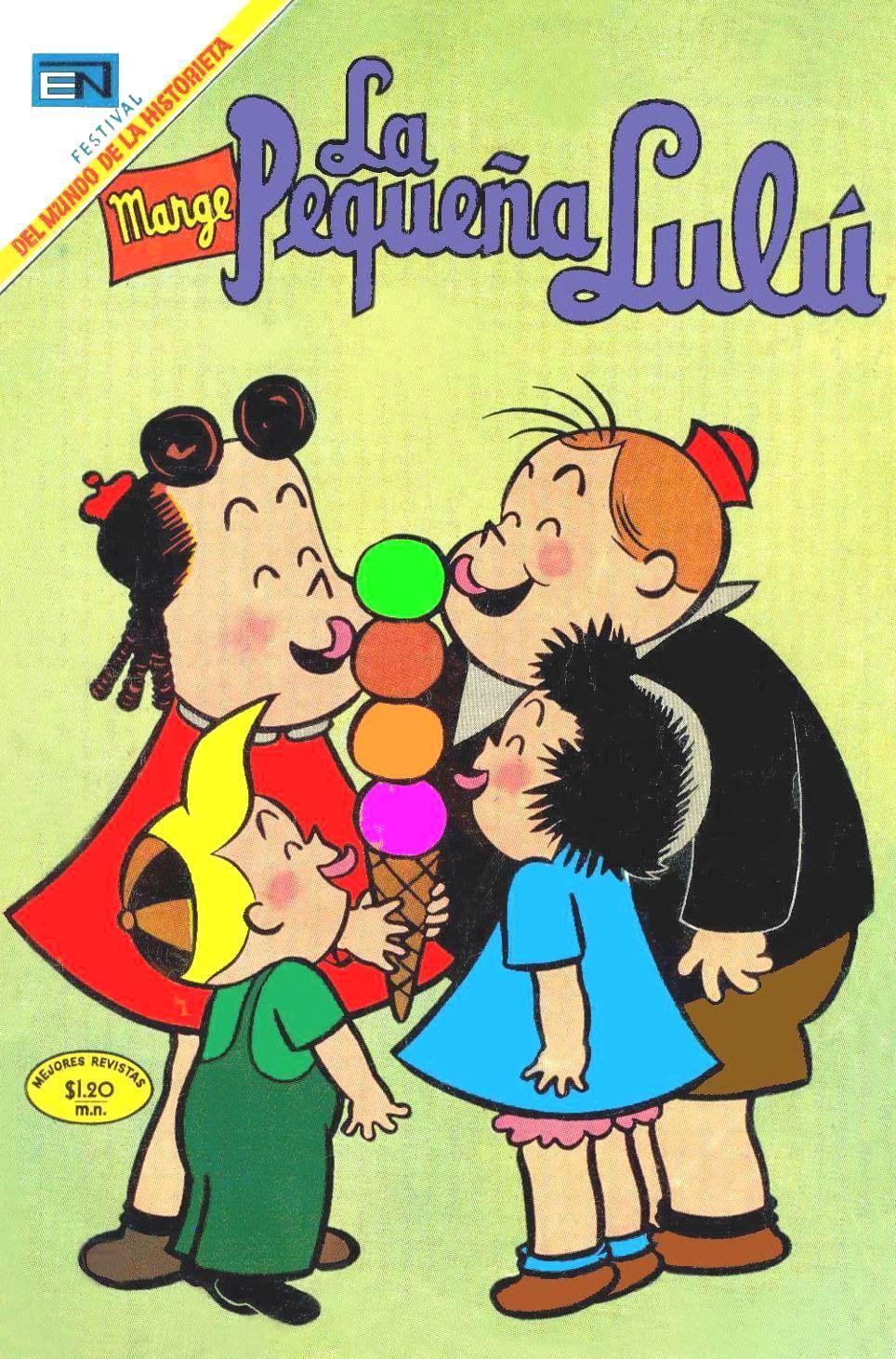 La Pequena Lulu La Pequena Lulu Personajes Comic Comics Y Dibujos Animados