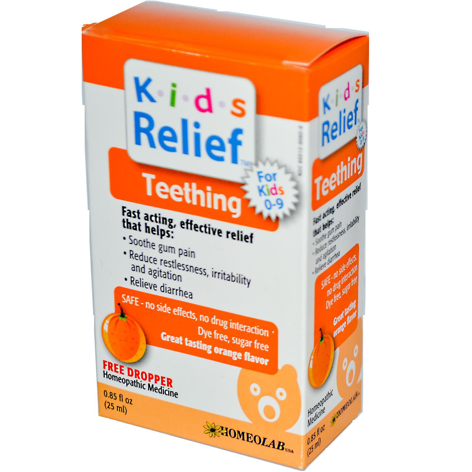Homeolab Usa Kids Relief Teething Teething Relief Kids