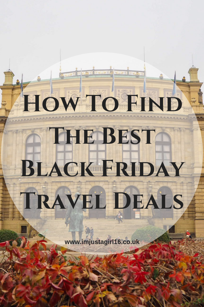 HOW TO GET THE BEST BLACK FRIDAY TRAVEL DEALS #BlackFriday #black #friday #travel #flights #traveldeals #traveldiscounts