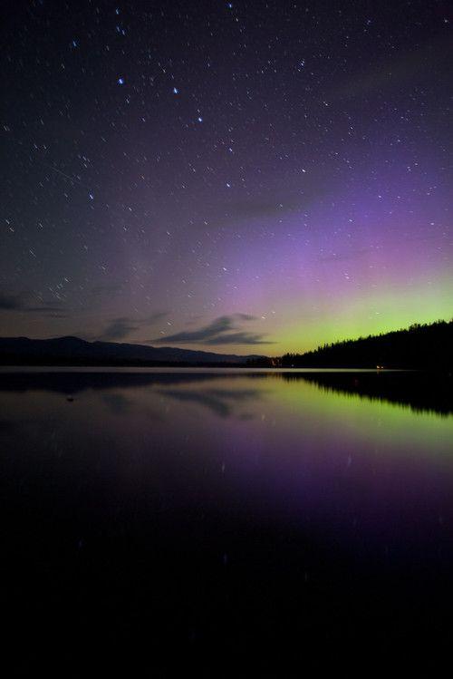Angie Varona Angie de las Estrellas boreales Pinterest - new blueprint alberta northern lights