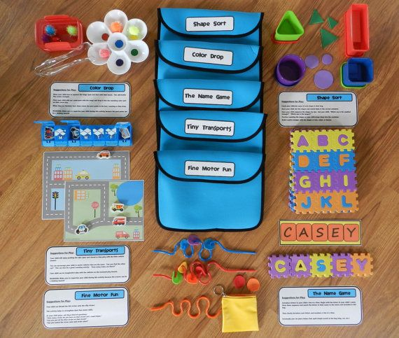 Busy Bags Set For 2 Year Old, Toddler Activities, Toddler