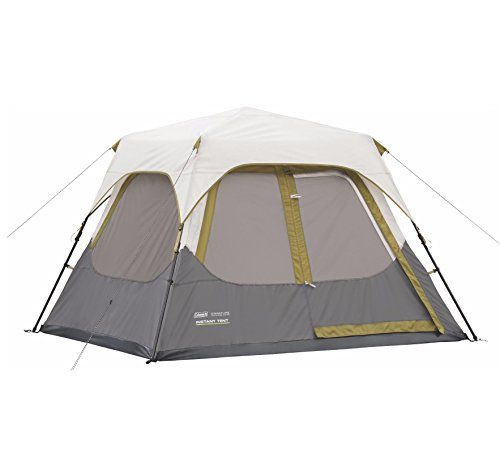 Introducing Coleman Signature 4 Person Family Camping Instant Cabin Tent W Rainfly 8 X 7 Great Product And Follow Us To Get More Instant Tent Tent Cabin Tent