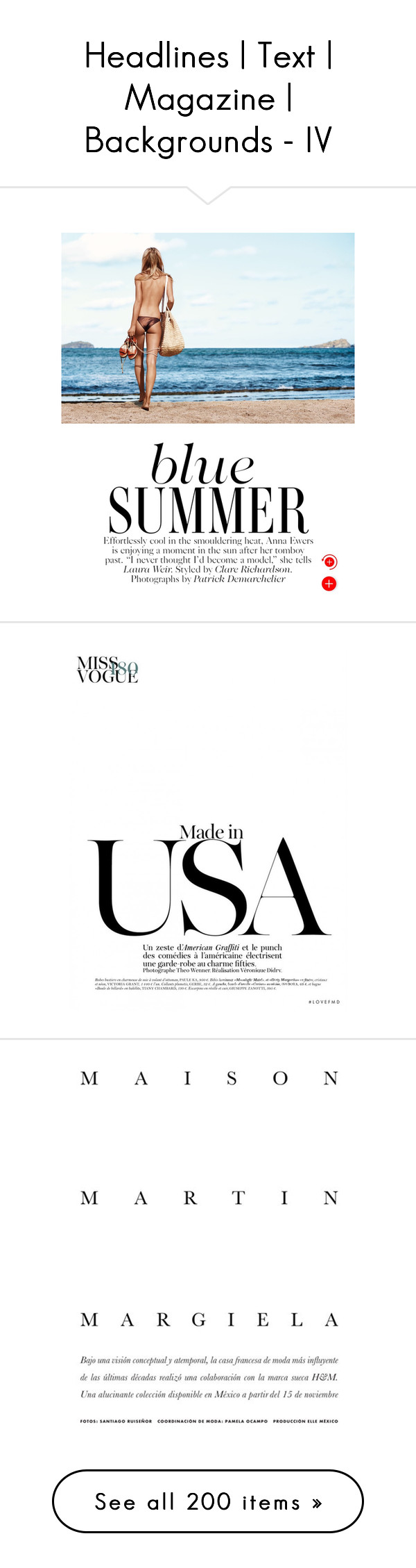 """Headlines 