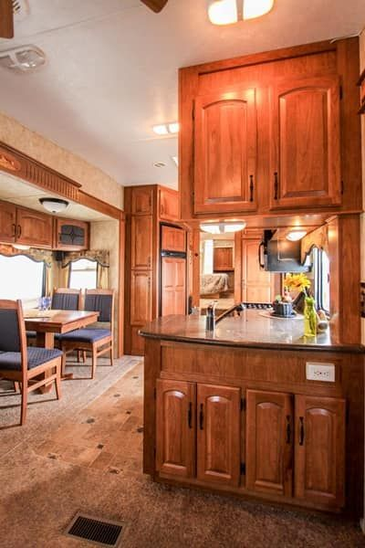 RV Bunch Member Post! What a beautiful RV Kitchen! # ...